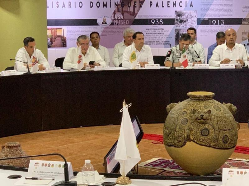 El encuentro contó con la presencia de Gobernadores de la región.
