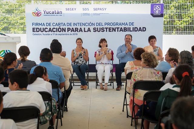 Docentes y estudiantes protegerán litoral yucateco