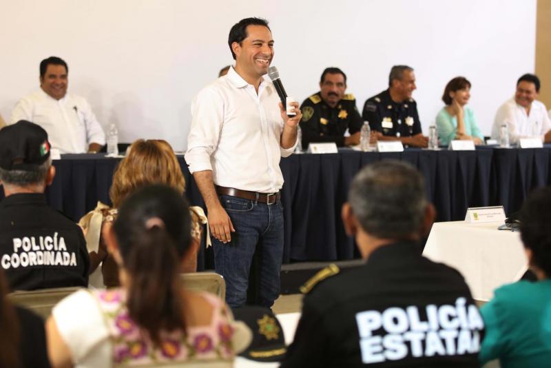 Trabajo coordinado y de la mano para construir un mejor Yucatán: Mauricio Vila Dosal