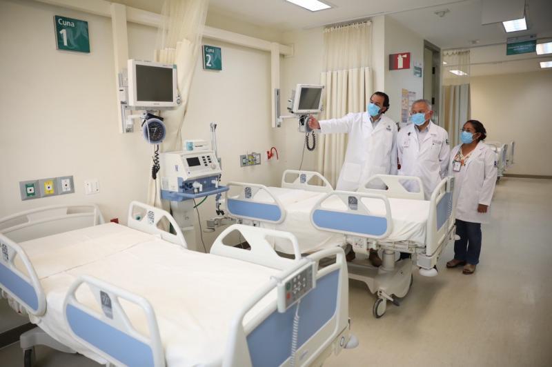Revisan infraestructura, equipos y capacidad del Hospital Regional de Alta Especialidad de la Península de Yucatán