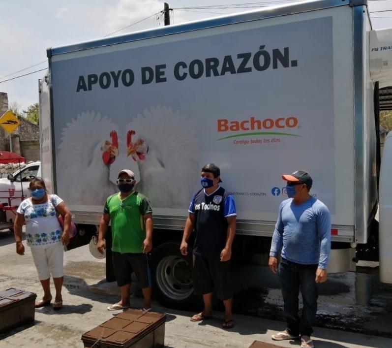 Se han distribuido en todo el estado cerca de 900 toneladas de ayuda alimentaria, 5,262 artículos de higiene personal y limpieza, 156 bienes y servicios, así como tres mil 294 medicamentos.