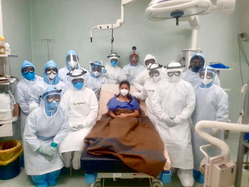 Compromiso y entrega del personal de la salud garantiza atención de calidad a pacientes con Covid-19