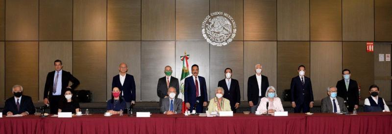 El Gobernador Mauricio Vila Dosal se reúne con la titular de la Segob, Olga Sánchez Cordero, para continuar trabajando de forma coordinada ante la emergencia sanitaria por el Coronavirus