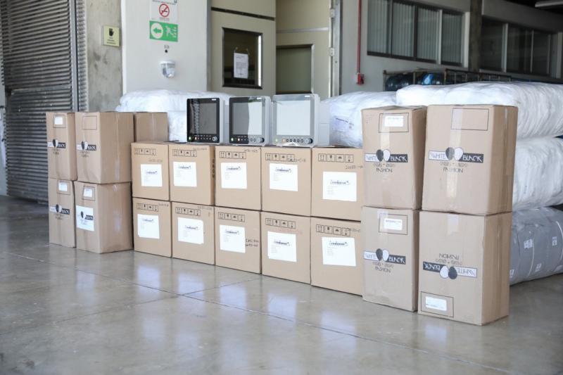 El Gobierno del Estado sigue entregando equipos de alta tecnología y materiales de protección para el personal médico a Hospitales del Gobierno federal