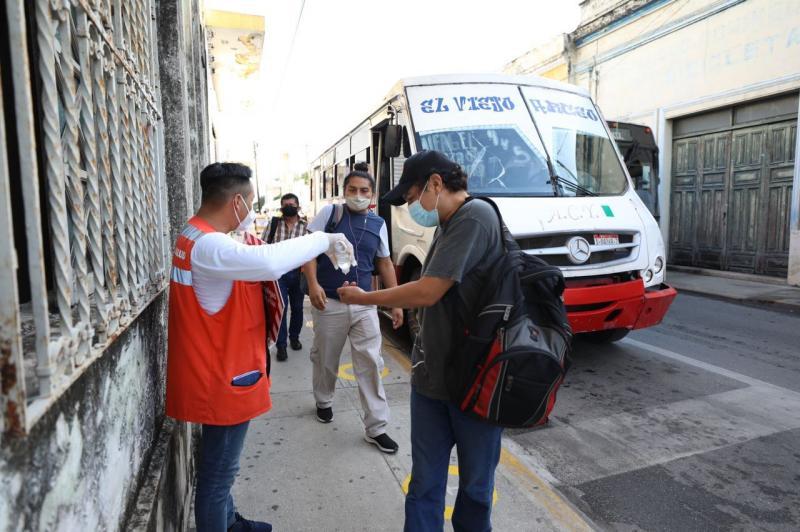 El reinicio de actividades tras día inhábil transcurre con normalidad en el Centro Histórico de Mérida