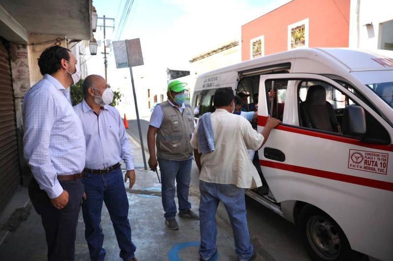 Constata el titular de la SSY, Mauricio Sauri Vivas, que las nuevas medidas contempladas en el Plan de Mejora a la Movilidad Urbana para el Centro Histórico de Mérida protegen la salud de los yucatecos