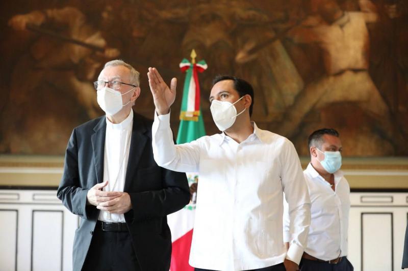 El Gobernador Mauricio Vila Dosal envía carta para invitar al Papa Francisco a visitar Yucatán