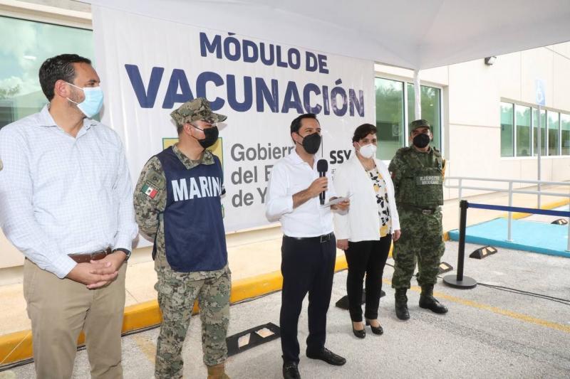 Gobernador Mauricio Vila Dosal mantiene estrecha coordinación con el Presidente Andrés Manuel López Obrador y este jueves se reunirá con él por cuarta ocasión