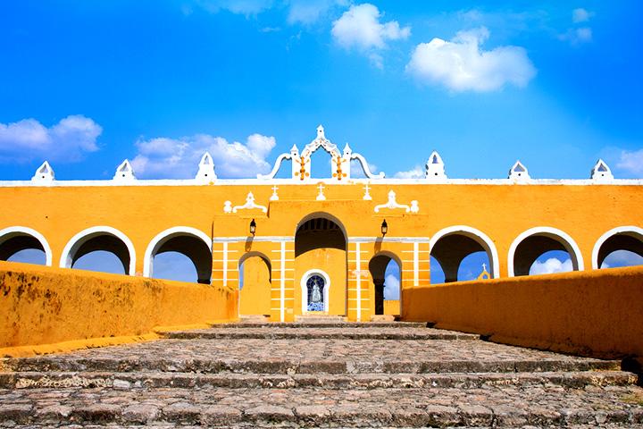 Resultado de imagen para izamal yucatan Izamal Primaide Yucatán