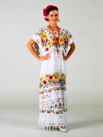 Confusiones de los que nos quieren distinguir entre indios y mexicanos. Traje0