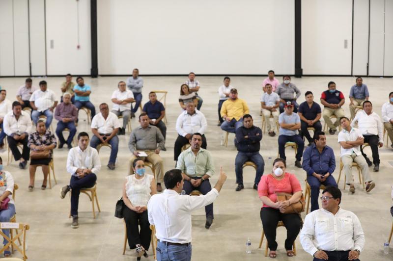 Presenta el Gobernador Mauricio Vila Dosal contenido del Plan de Contingencia, Protección al Empleo y Reactivación Económica ante alcaldes de los 106 municipios