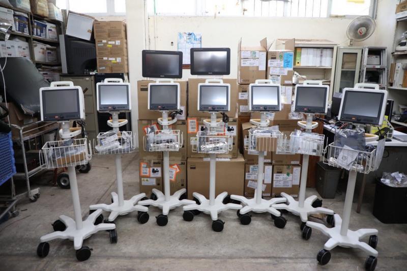 El Gobierno del Estado dota de 69 nuevos monitores de signos vitales a hospitales públicos del estado para enfrentar la contingencia por el Coronavirus