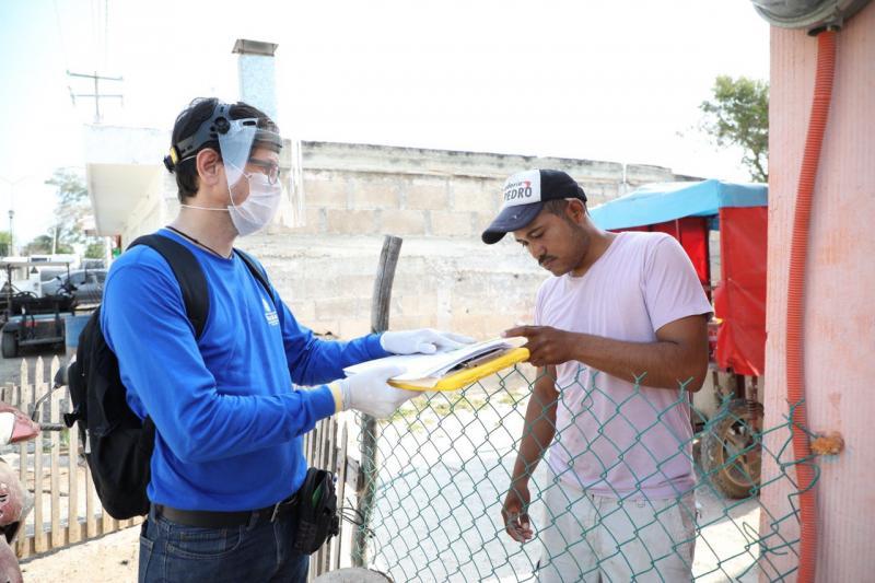 Más de 12,200 pescadores están recibiendo en sus domicilios un apoyo económico para sostener a su familia durante la contingencia por el Coronavirus