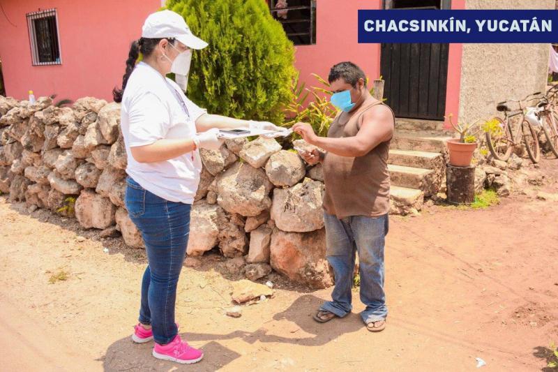 Gobierno del Estado inicia la distribución casa por casa del Seguro de Desempleo para respaldar a las familias de 46,800 yucatecos ante contingencia por Coronavirus