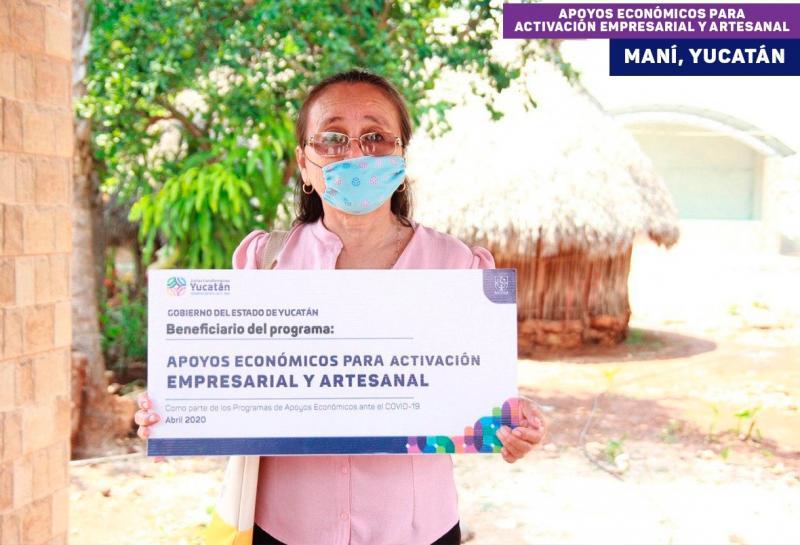 Un millón de yucatecos beneficiados ya por los diversos programas del Plan para Impulsar la Economía, los Empleos y la Salud
